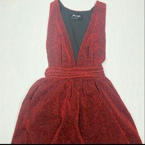 Sparkling ruby dress